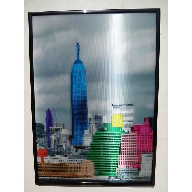 3d new york achat vente objet d coration murale for Decoration murale new york