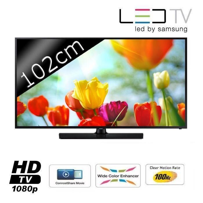 samsung ue40eh5000 tv led full hd 102cm 40 100hz. Black Bedroom Furniture Sets. Home Design Ideas