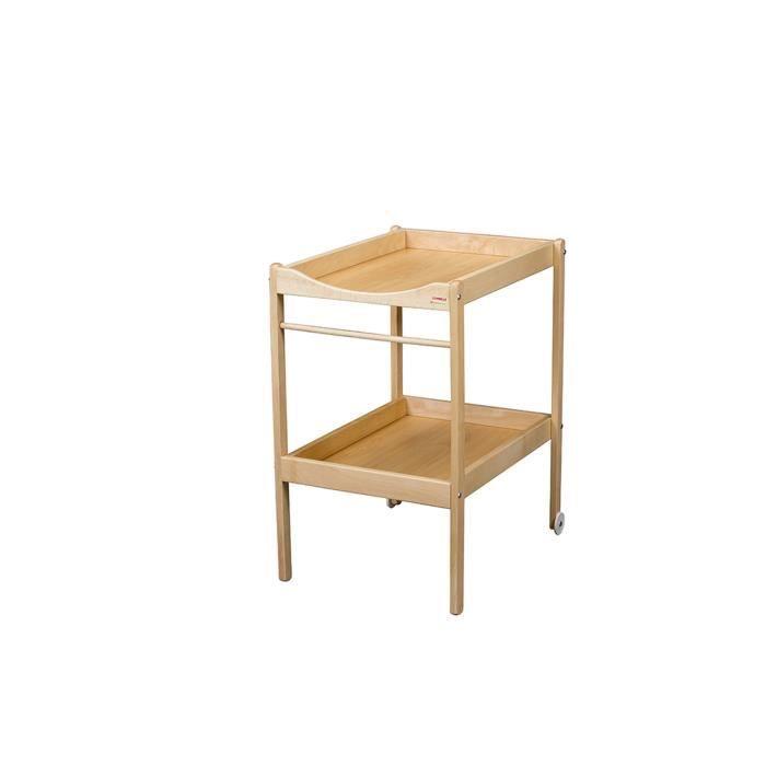 Combelle table langer alice naturel naturel achat for But table a langer