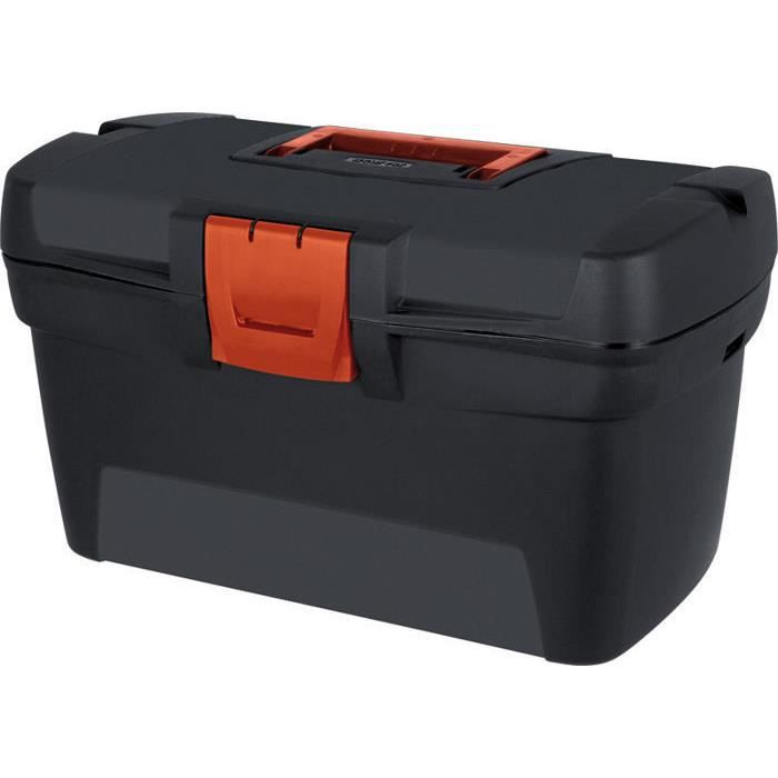 caisse de rangement pour outils piquets curver achat vente boite a outils cdiscount. Black Bedroom Furniture Sets. Home Design Ideas
