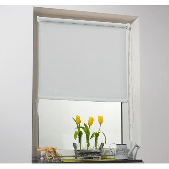 Store enrouleur 80x175cm blanc achat vente store de for Fenetre 60x120