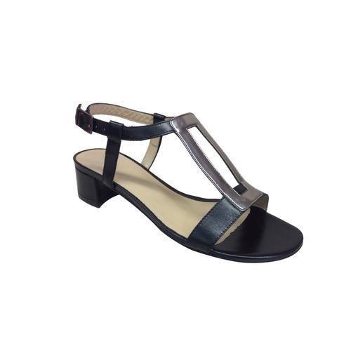 sandale petit talon noir perlato achat vente sandale nu pieds sandale petit talon noir pe. Black Bedroom Furniture Sets. Home Design Ideas