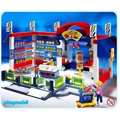 Playmobil Marchand Superette N 176 3200 Achat Vente