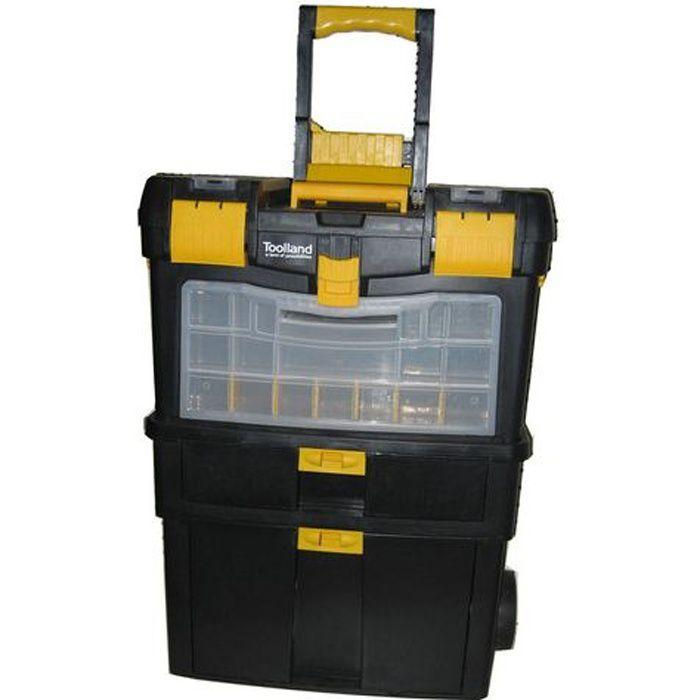 caisse de rangement outils achat vente boite a outils plastique cdiscount. Black Bedroom Furniture Sets. Home Design Ideas