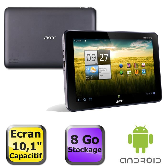 TABLETTE TACTILE Acer Iconia Tab A200 8Go gris