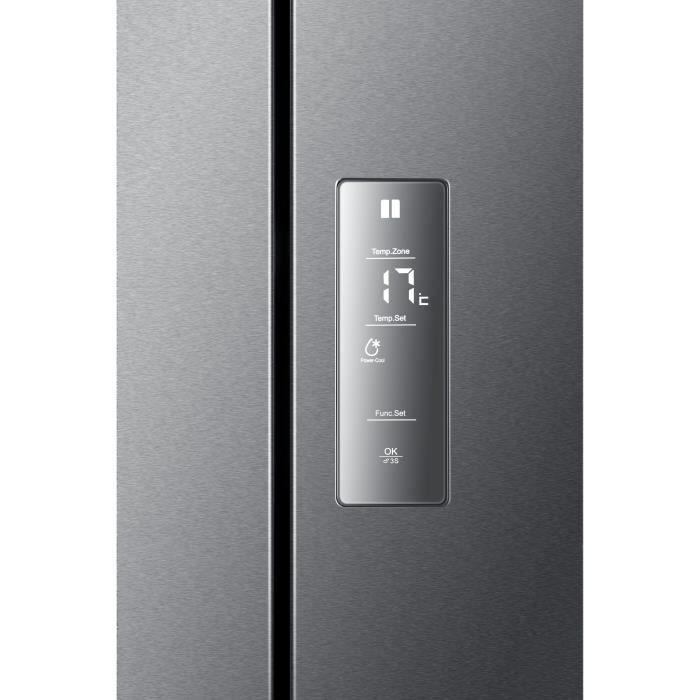 haier b390tgaas r frig rateur multi portes electrom nager. Black Bedroom Furniture Sets. Home Design Ideas