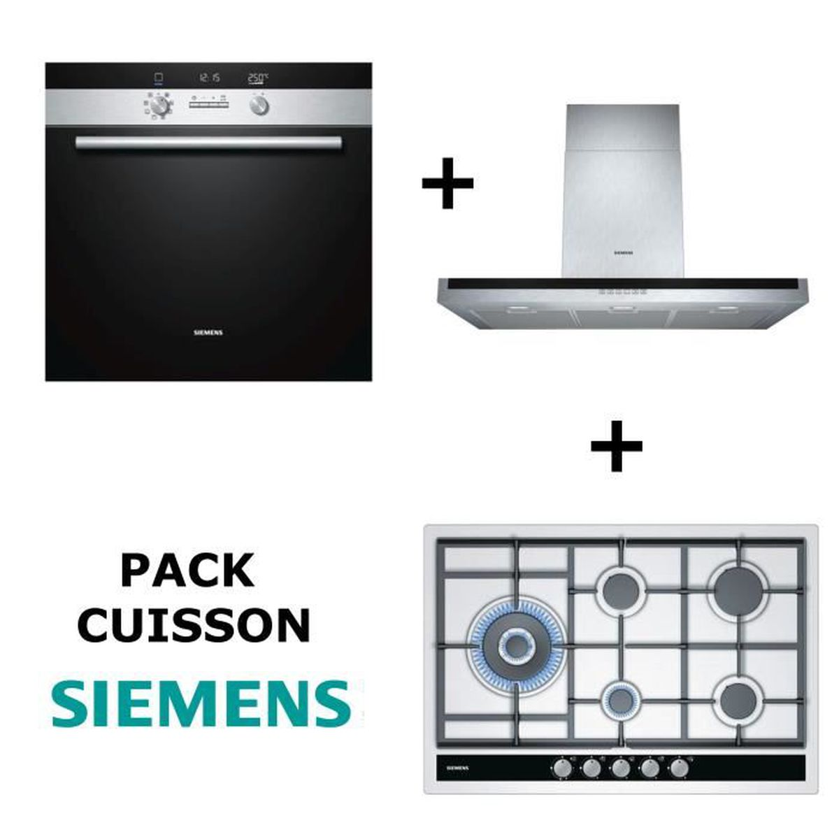siemens pack cuisson four multifonction pyrolyse. Black Bedroom Furniture Sets. Home Design Ideas