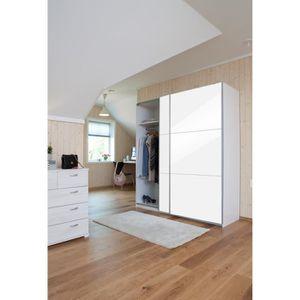 armoire chambre hauteur 150cm achat vente armoire chambre hauteur 150cm pas cher cdiscount. Black Bedroom Furniture Sets. Home Design Ideas