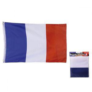 DRAPEAU - BANDEROLE Grand Drapeau Français Unique