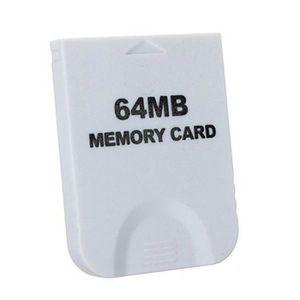 CARTE MÉMOIRE CONSOLE GameCube Carte Compatible mémoire 64MB avec 1019 B
