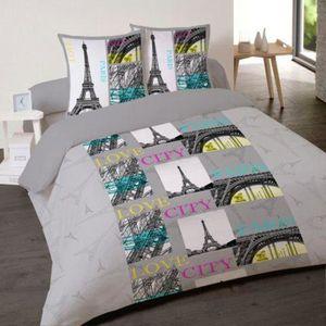 housse de couette paris 2 personnes achat vente housse de couette paris 2 personnes pas cher. Black Bedroom Furniture Sets. Home Design Ideas