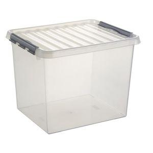 boite de rangement plastique avec couvercle achat vente boite de rangement plastique avec. Black Bedroom Furniture Sets. Home Design Ideas