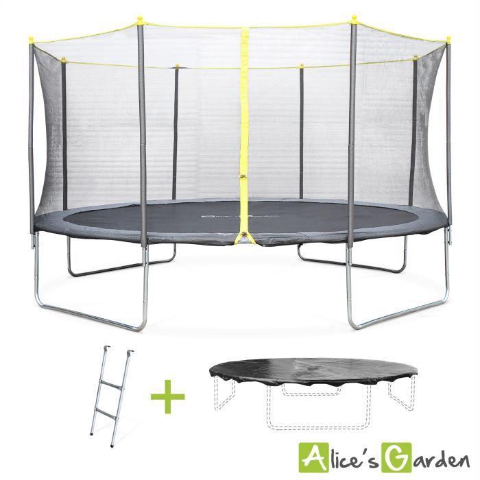 trampoline 4m30 achat vente jeux et jouets pas chers. Black Bedroom Furniture Sets. Home Design Ideas