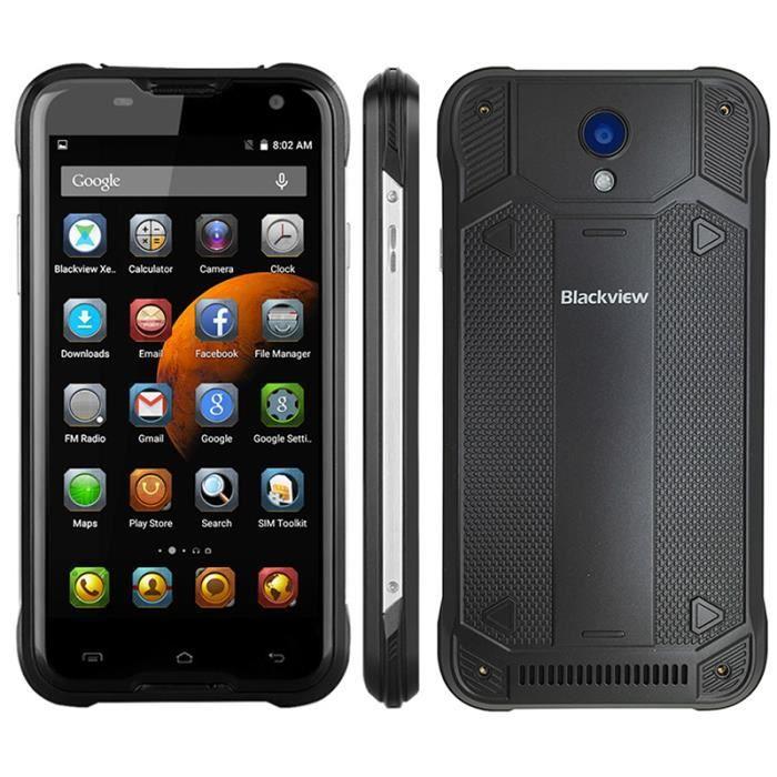 blackview bv5000 4g lte de t l phone tanche portable 5 0 pouces hd quad core android 5 1. Black Bedroom Furniture Sets. Home Design Ideas