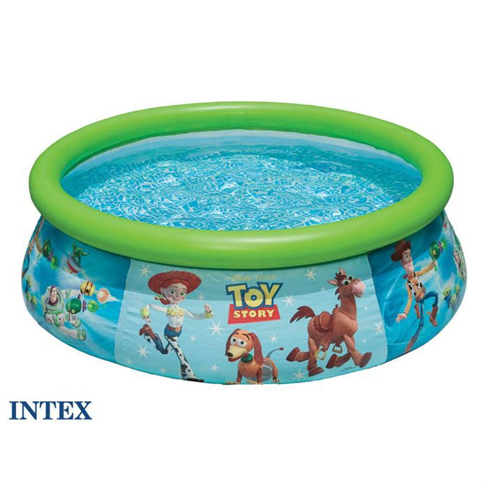 Piscine autostable intex 1 83 x 0 51 m toy story achat for Piscine autostable