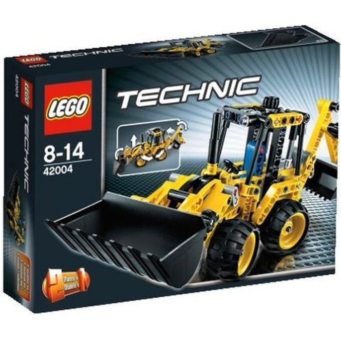 lego technic 42004 le tractopelle achat vente assemblage construction cdiscount. Black Bedroom Furniture Sets. Home Design Ideas
