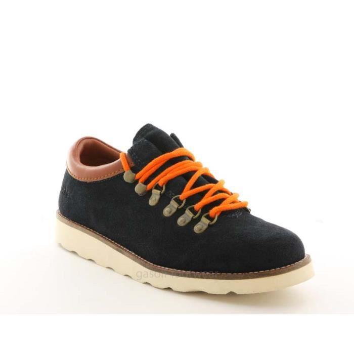 Chaussure pointer en daim bleu m bleu bleu marine achat - Laver chaussure en daim ...