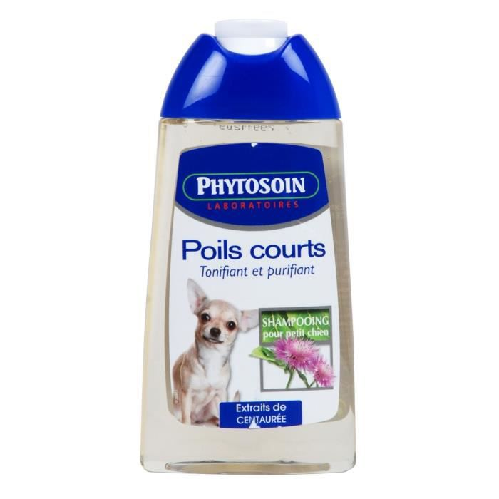 phytosoin shampooing poils courts petits chiens achat vente shampoing masque shampooing. Black Bedroom Furniture Sets. Home Design Ideas