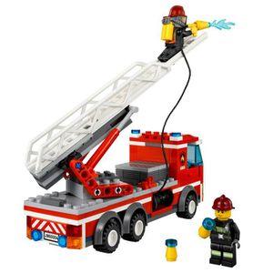LEGO City 60004 La Caserne des Pompiers