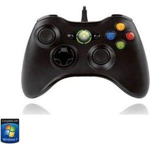 Manette de Jeu Filaire Xbox pour PC & Xbox 360