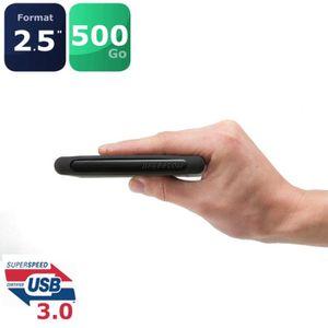 """DISQUE DUR EXTERNE Freecom Disque dur 2.5"""" XXS USB3.0 500Go"""