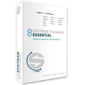 Systran 8 Translator Essential - Pack Anglais-Monde