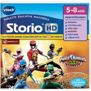 VTECH Jeu Hd Storio - Power Rangers