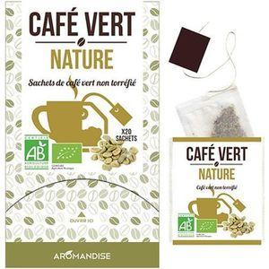 CAFÉ - CHICORÉE Sachets de café vert non torréfié
