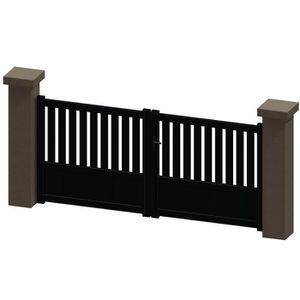 portail 1 battant 3m achat vente portail 1 battant 3m pas cher cdiscount. Black Bedroom Furniture Sets. Home Design Ideas