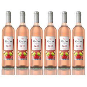 VIN ROSÉ Gallo Spritz framboise chaux 5,5% vol. Vin Rosé 6