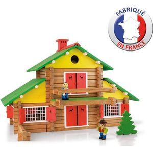 ASSEMBLAGE CONSTRUCTION JEUJURA - Mon Chalet en Bois 240 pièces