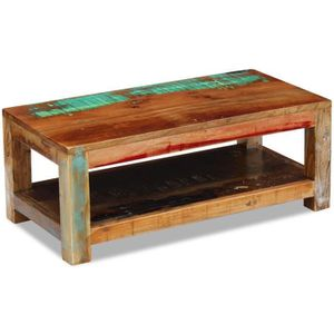 Table basse bois coffre achat vente table basse bois for Table basse recuperation