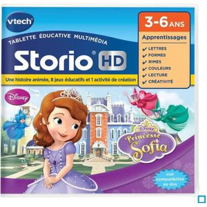 JEU CONSOLE EDUCATIVE VTECH Jeu Hd Storio - Princesse Sofia