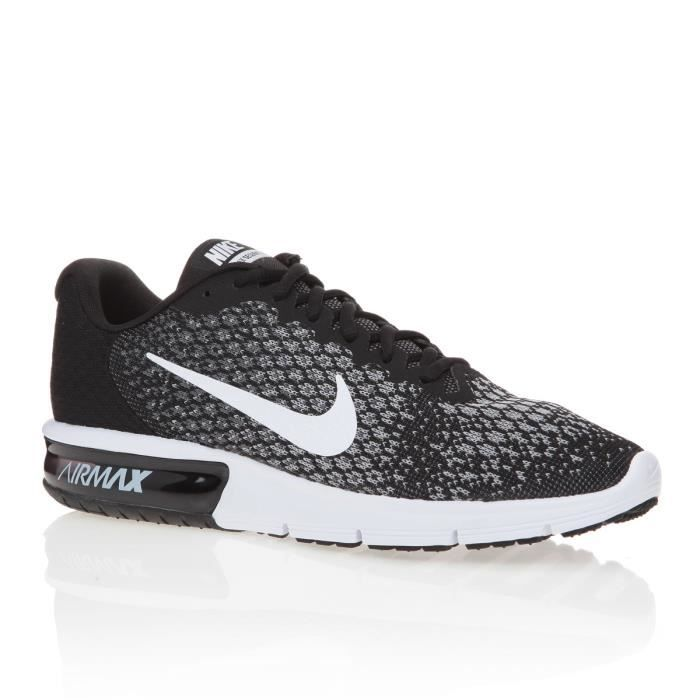 nike baskets chaussures de running air max sequent 2 homme pe17 prix pas cher cdiscount. Black Bedroom Furniture Sets. Home Design Ideas
