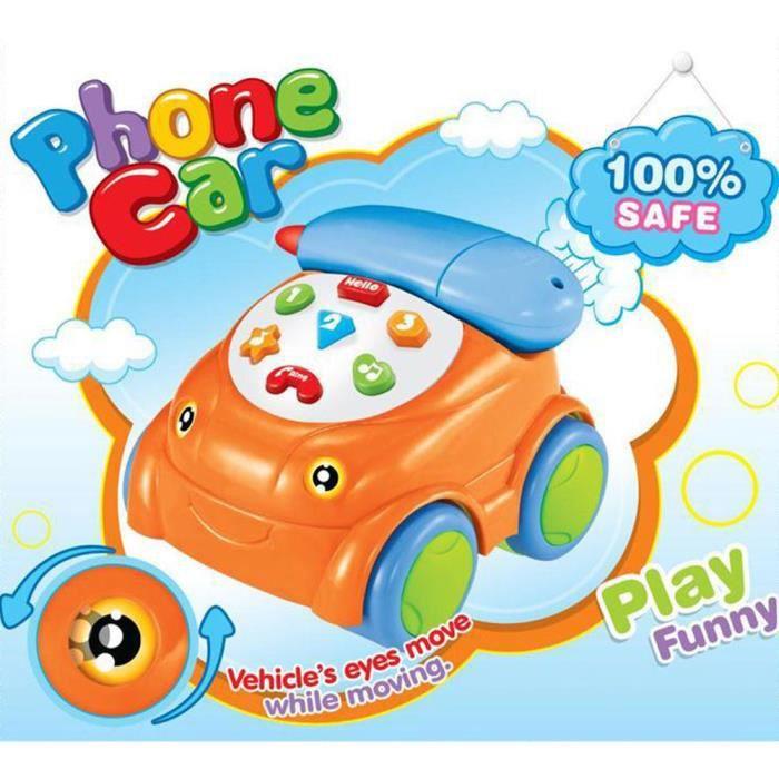 b b musical t l commande t l phone jouets musique enfant voiture achat vente livre d 39 veil. Black Bedroom Furniture Sets. Home Design Ideas