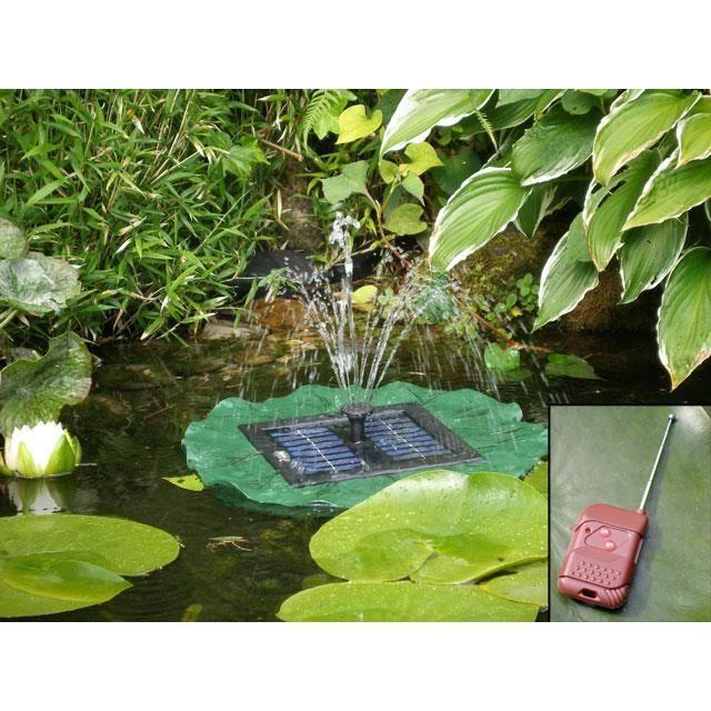 fontaine flottante pour bassin t l commande achat vente fontaine de jardin fontaine. Black Bedroom Furniture Sets. Home Design Ideas