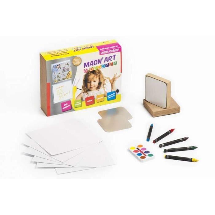 Coffret magnet aimant d corer magn 39 art achat vente table jouet d 39 activit cdiscount - Jeux de chambre een decorer ...