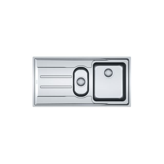 Eviers double cuves franke aton inox et microde achat - Robinetterie cuisine franke ...