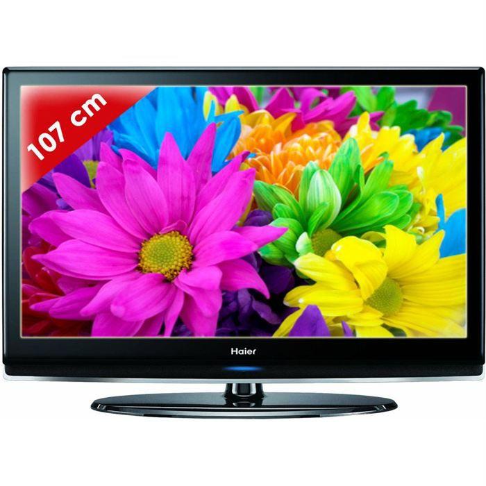 Haier ltf 42 k 1 t l viseur lcd t l viseur lcd prix - Televiseur c discount ...