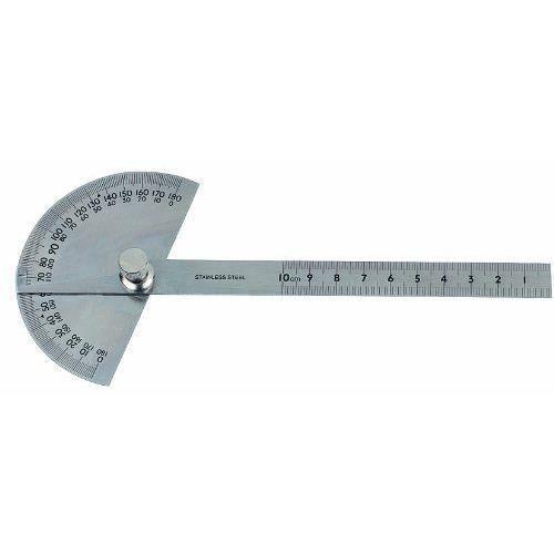 Metrica 36500 Rapporteur d'angle en inox Ø 90 x 150 mmEn acier