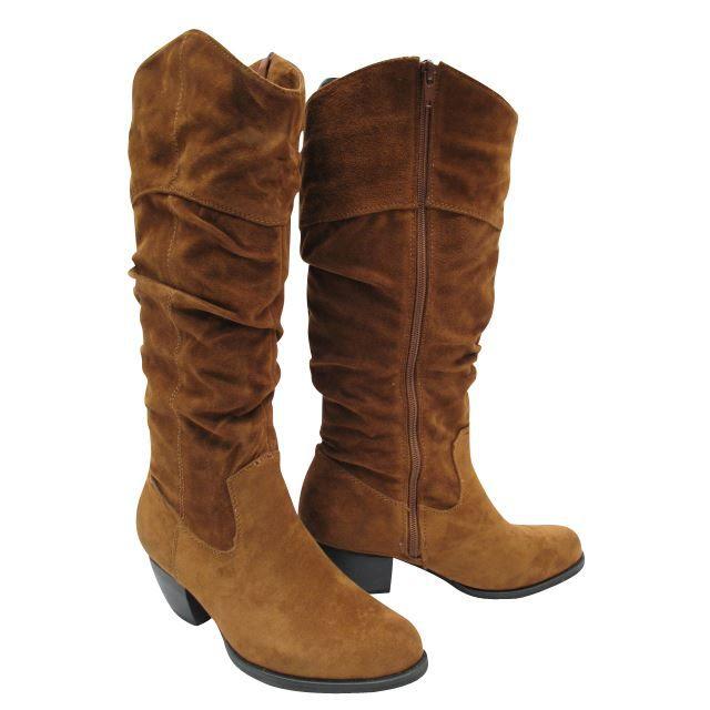 Bottes femme style cowboy, western Talon de 5,5cm Hauteur des bottes