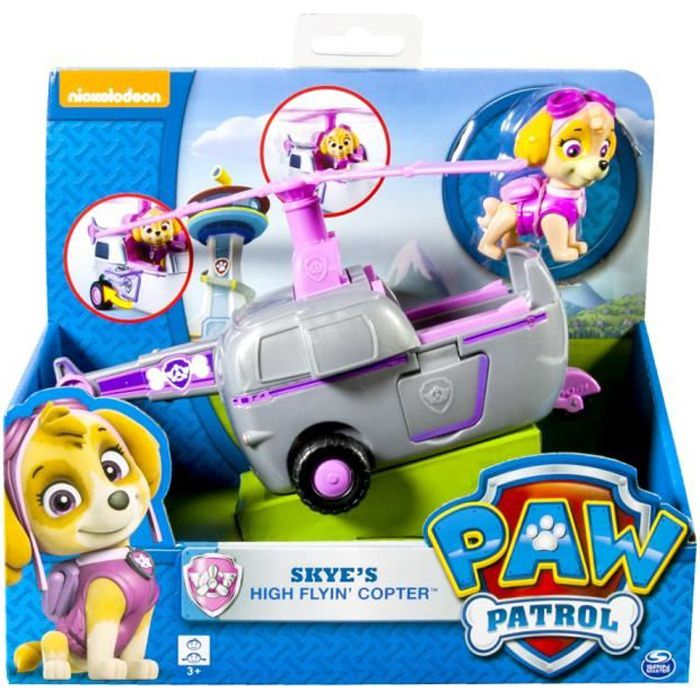 paw patrol figurine v hicule stella achat vente figurine personnage cdiscount. Black Bedroom Furniture Sets. Home Design Ideas