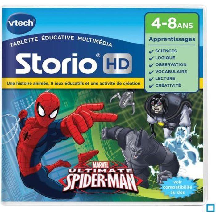 Vtech jeu hd storio spider man achat vente jeu - Les jeux de spiderman 4 ...