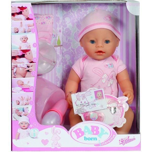 Zapf Creation 822005 Poup 233 E Baby Born Interactif Achat