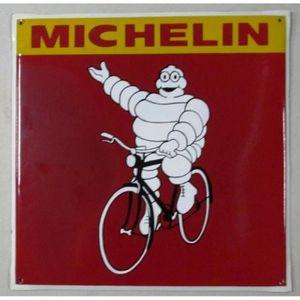 Plaque michelin achat vente plaque michelin pas cher for Grosse horloge murale ancienne