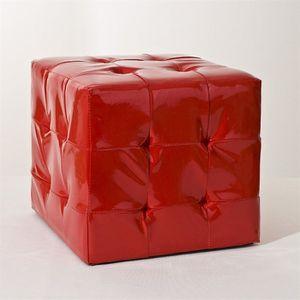 pouf leandre lin gris achat vente pouf poire. Black Bedroom Furniture Sets. Home Design Ideas