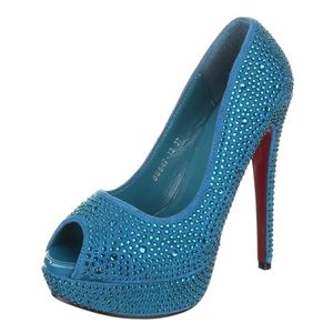 e3fa9df05a9f escarpin bleu turquoise