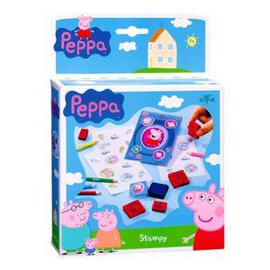 EPONGE - TAMPON Kit créatif Peppa Pig : Jeu de tampons