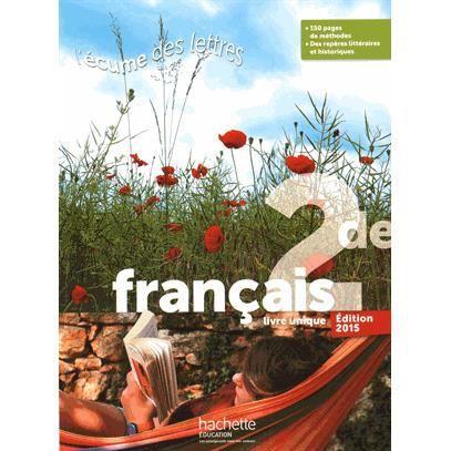 Francais 2e Bac Pro 3 ans Grand Format - Achat \/ Vente ...