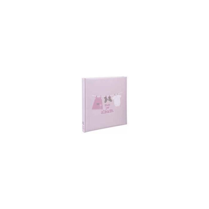 album photo de naissance lulu rose coller avec texte. Black Bedroom Furniture Sets. Home Design Ideas